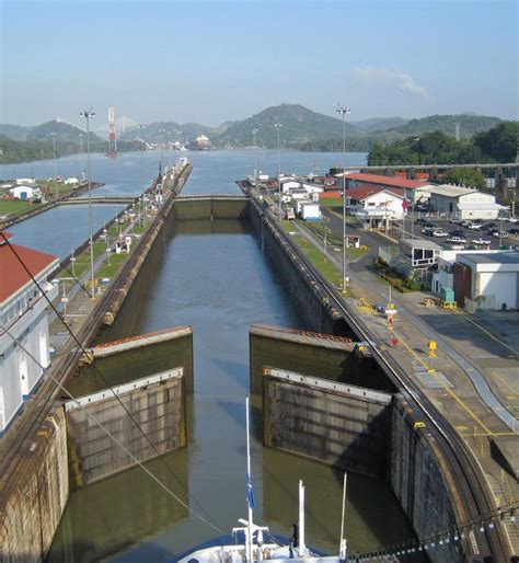 What year did the Panama Canal first
