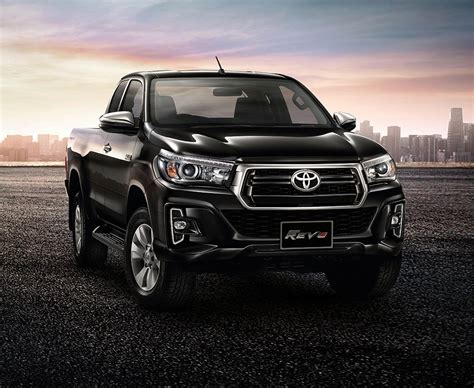 Toyota Hilux Goes To Thailand For A Rugged Facelift