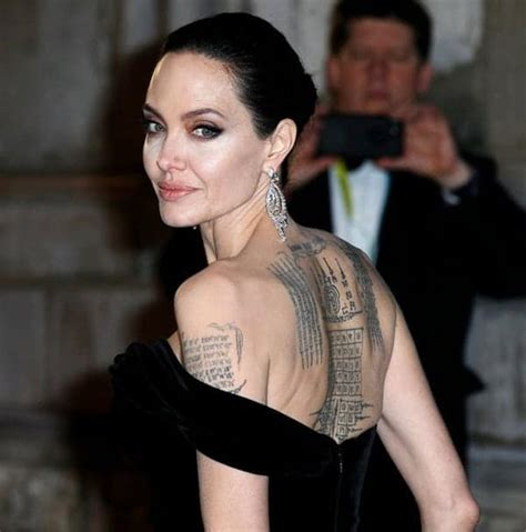 Angelina Jolie Tattoos: Get Inspiration from a Movie Star