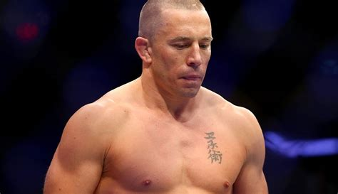 Georges St-Pierre suffering from colitis, will be 'out for