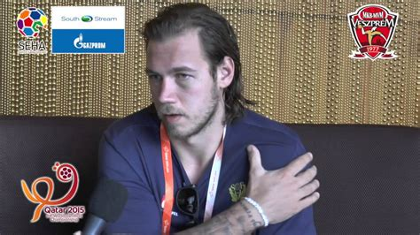 Qatar 2015 - Interview with Andreas Nilsson, Sweden - YouTube