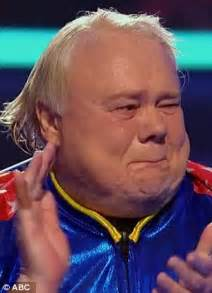 Louie Anderson bursts into tears as he pulls off possible