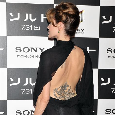 Angelina Jolie's Tattoos: Did You Know She Has One for